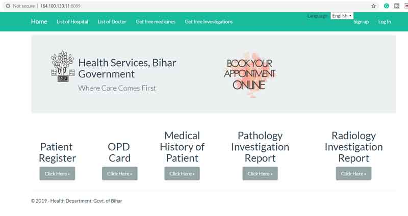 Health-Services,-Bihar-Government